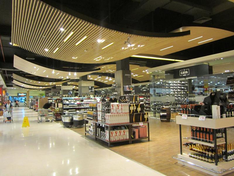 Remodelación Supermercados Jumbo Alto Las Condes, Santiago.