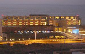 Construcción zona de fumadores Casino Enjoy, Antofagasta